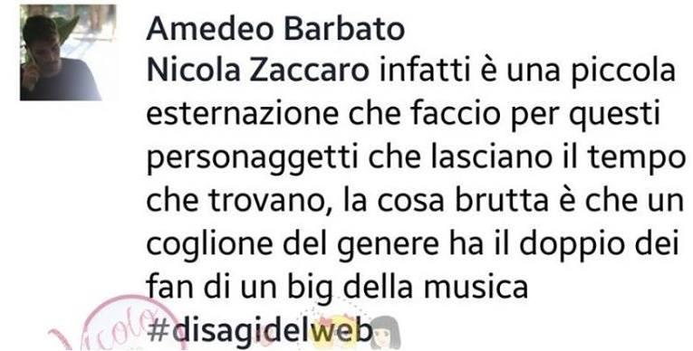 amedeo barbato offende deejay andrea damante (2)