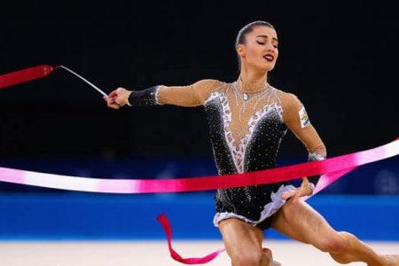 danielle prince rhythmic gymnastics lady gaga