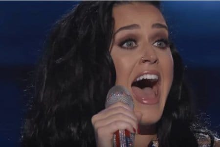 katy perry rise real audio live