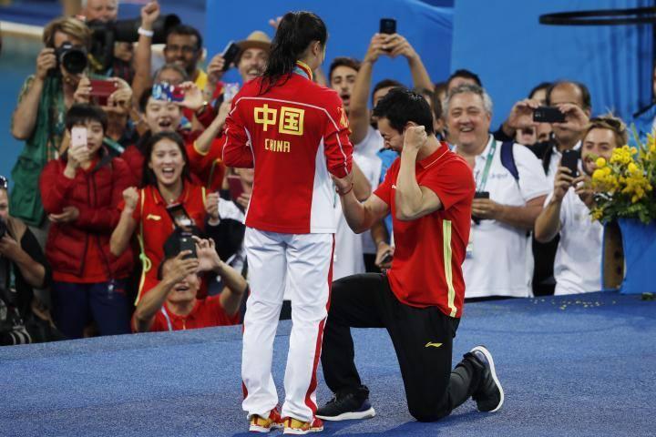 proposta di matrimonio cinese olimpiadi 4