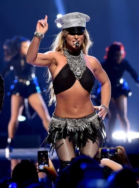 Britney Spears agli iHeartRadio Music Festival