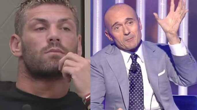 Clemente Russo e Alfonso Signorini