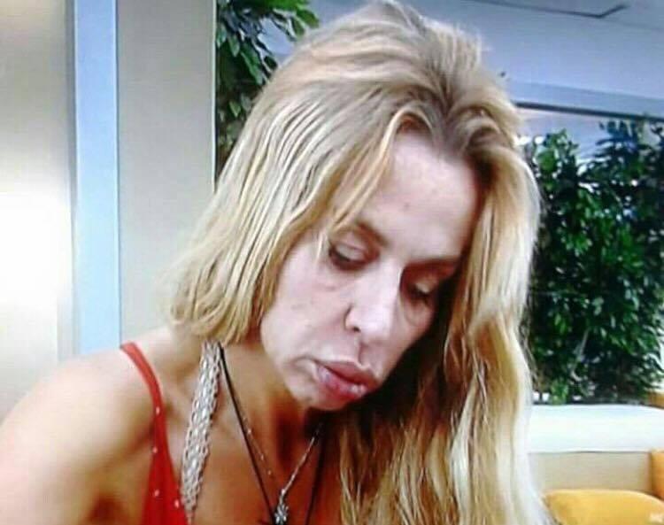 Valeria Marini senza trucco struccata Grande Fratello (3)