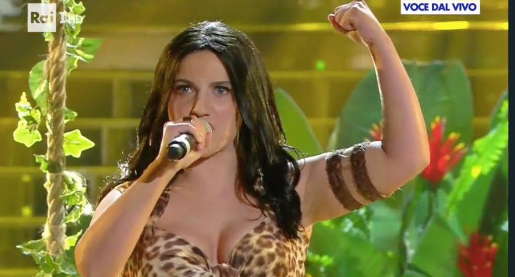 Katy Perry Tale e Quale Show