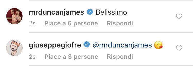 Giuseppe Giofre e Duncan James