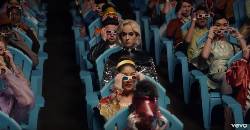 Katy Perry Chained To The Rhythm Video (1)