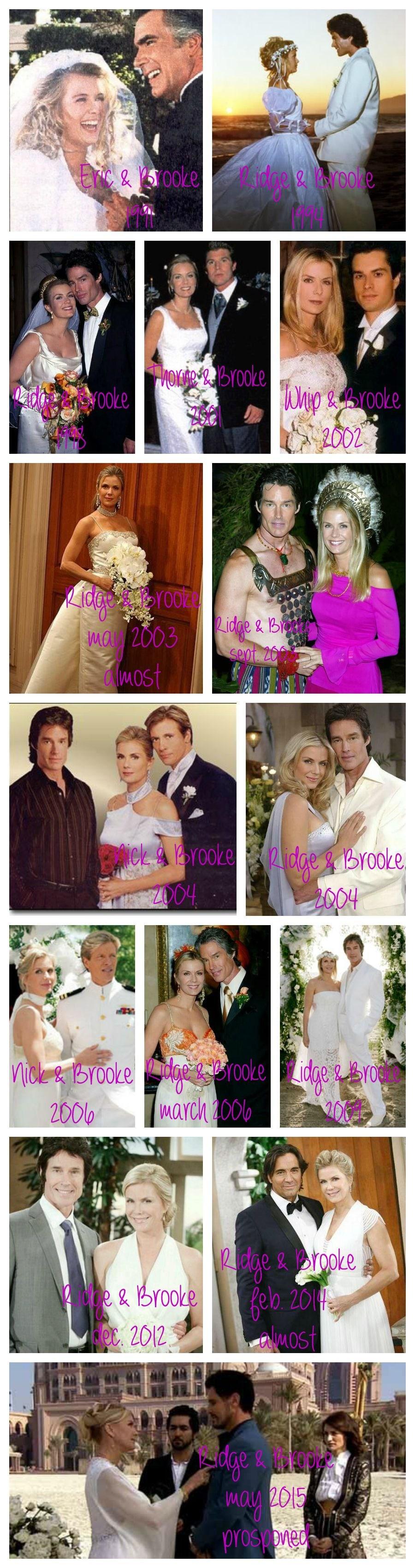 Brooke Logan Matrimoni