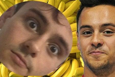 Tom Daley banana