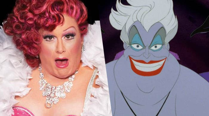 ursula drag queen disney live action video