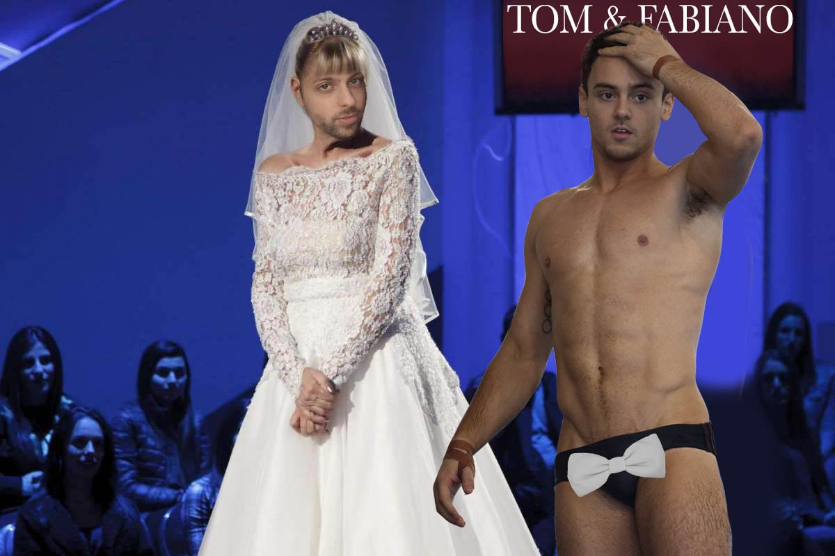 TOM DALEY WEDDING MARRIED DUSTIN LANCE