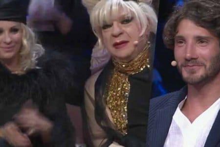 Tina, Platinette e Stefano De Martino