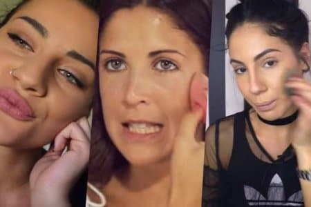 tutorial di make up su youtube con giulia de lellis e martina luchena