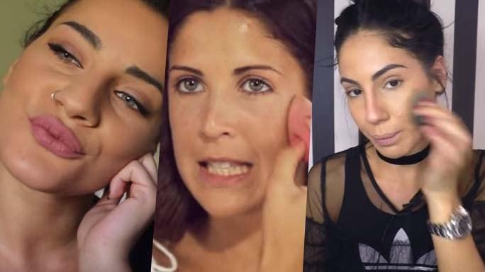 tutorial di make up su youtube con giulia de lellis e martina luchena