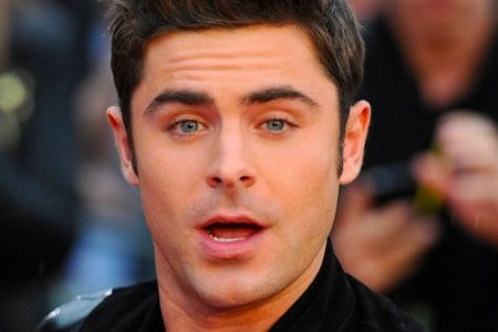 zac efron gay kiss the rock