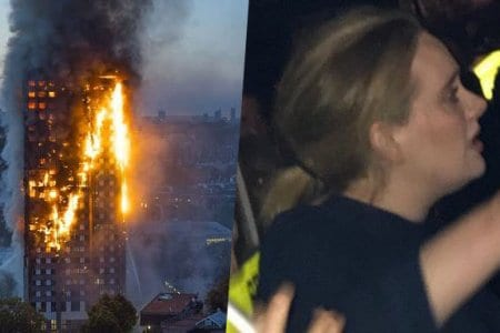 Adele Grenfell Tower Cry