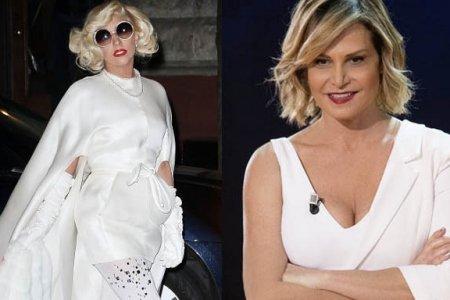 Lady Gaga e Simona Ventura