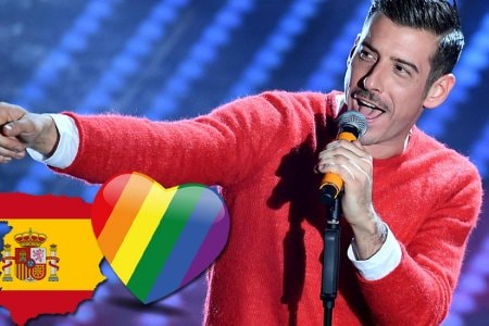 Francesco Gabbani Gay World Pride Madrid