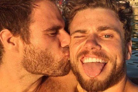 Gus Kenworthy and Matthew Wilkas