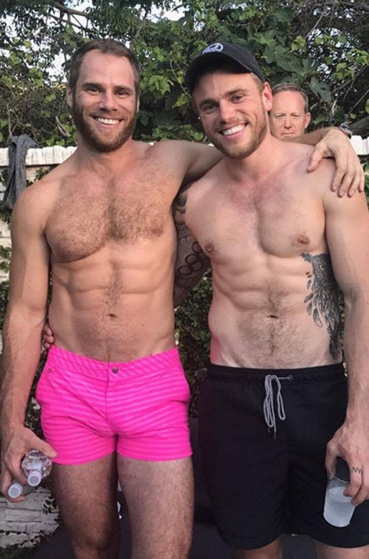 Gus Kenworthy e Matthew Wilkas. 2