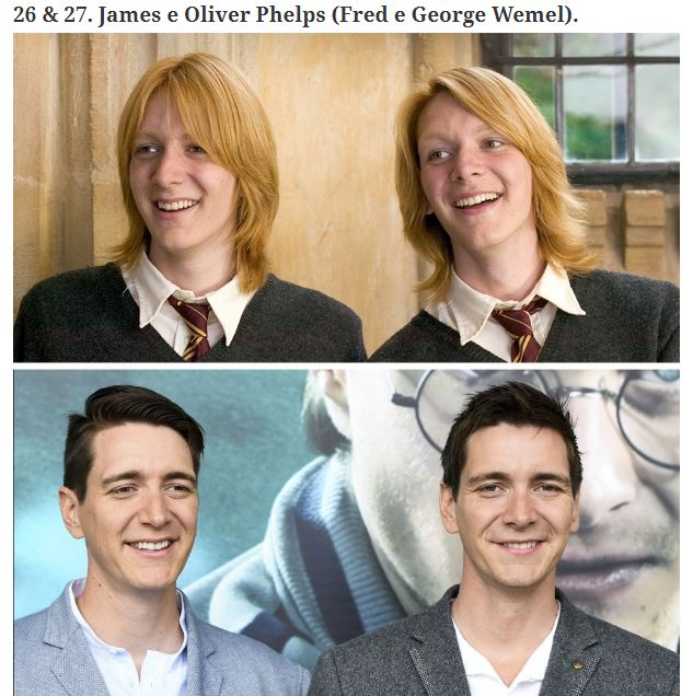 Harry Potter attori prima e dopo (2)