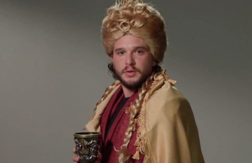 Kit Harington nei panni di Cersei, Daenerys, Hodor (1)