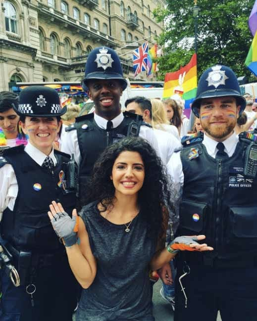London Pride Police Rainbow 4