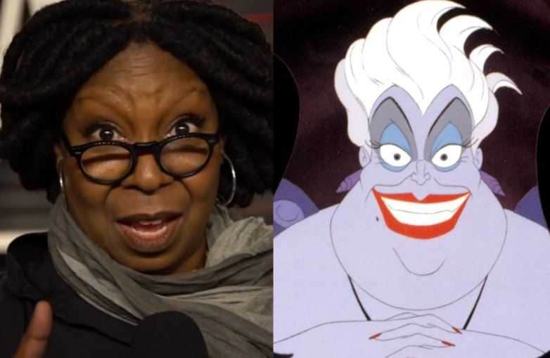 Whoopi Goldberg Ursula