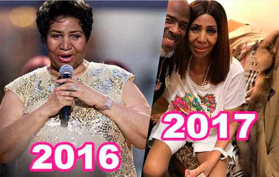 aretha franklin weight 2017 beautiful video