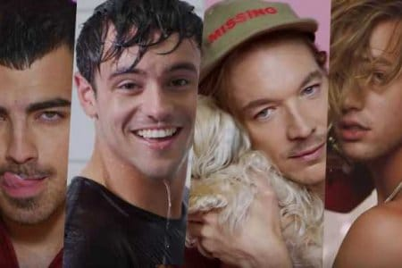 boys video charli xcx tom daley joe jonas