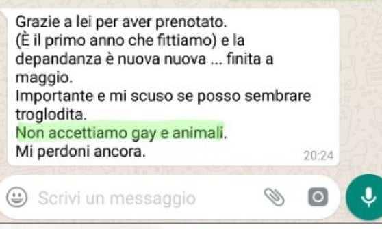 no gay no animali