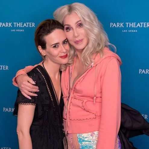 Cher e Sarah Paulson