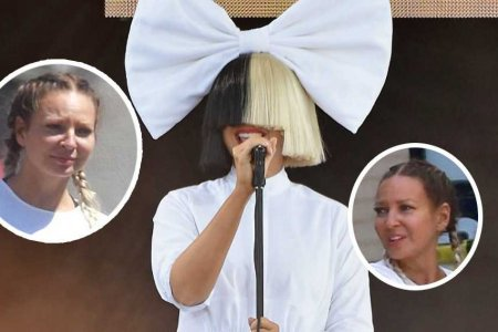 "NEW YORK, NY - JULY 22:  Singer/songwriter Sia performs on ABC's ""Good Morning America"" at SummerStage at Rumsey Playfield, Central Park on July 22, 2016 in New York City.  (Photo by Mike Coppola/Getty Images)"