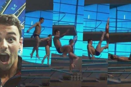 tom daley epic fail