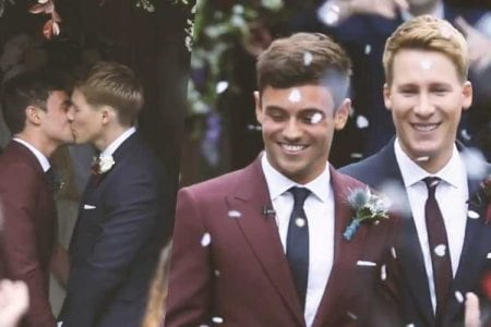 tom daley wedding