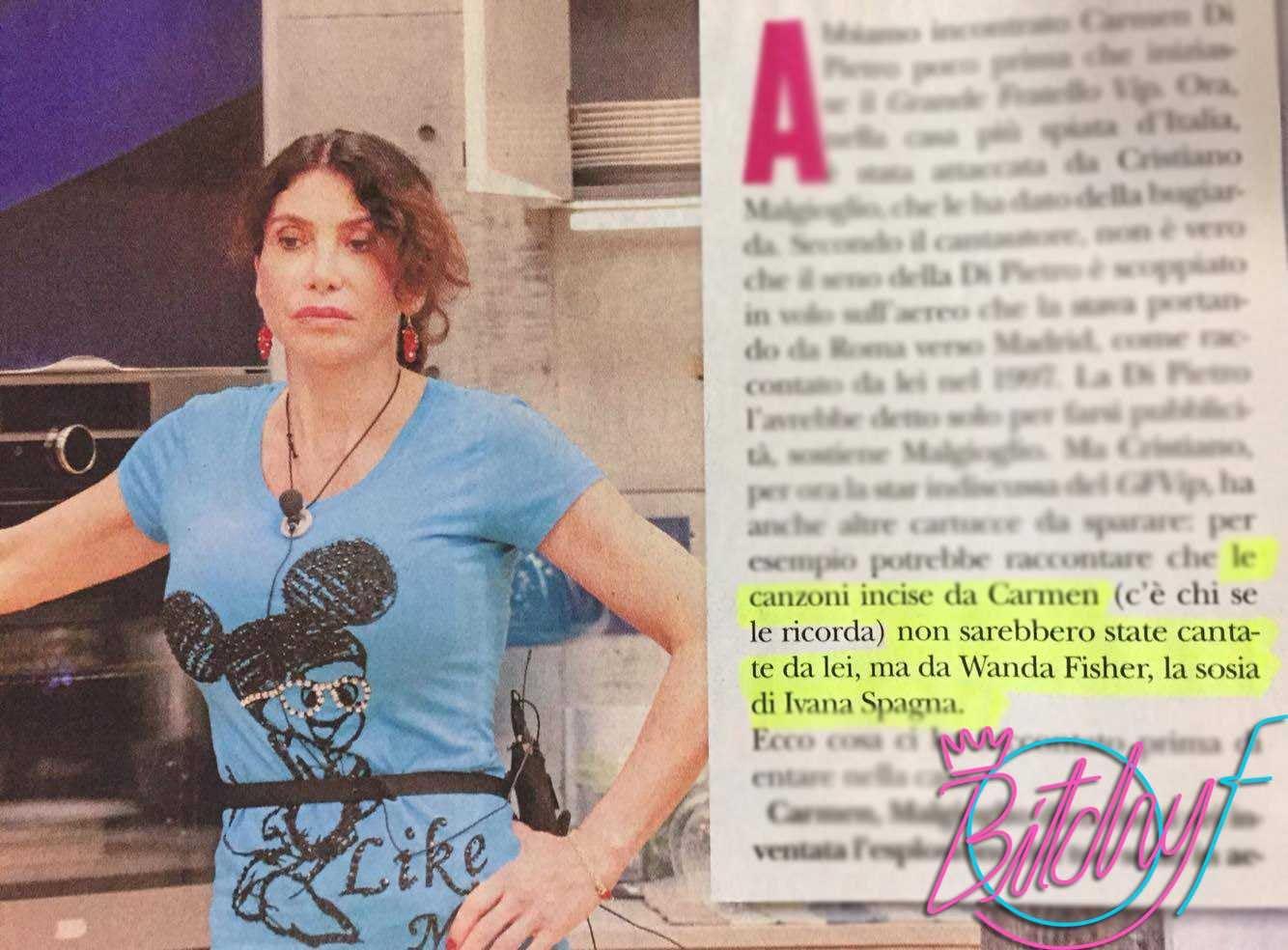 Carmen Di Pietro Wanda Fisher