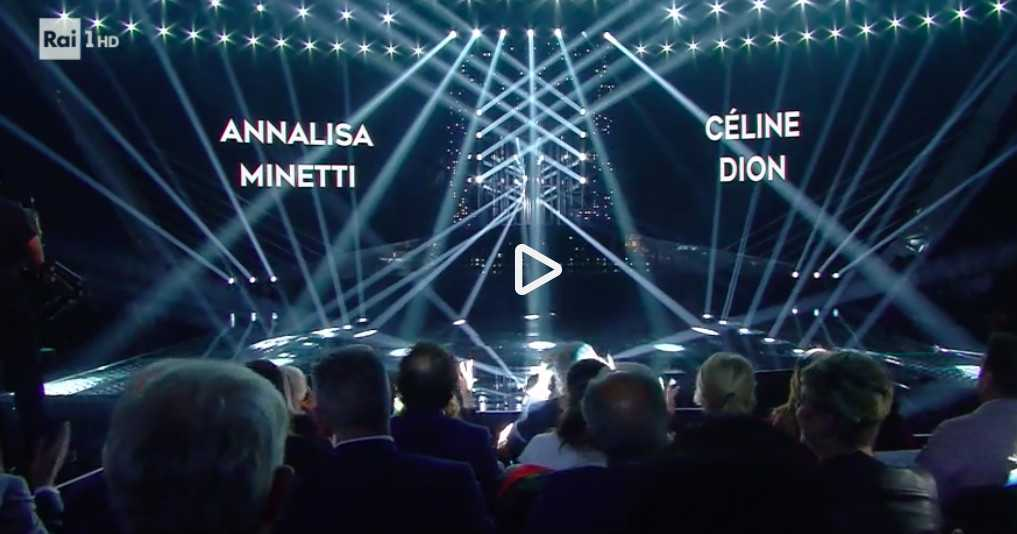 annalisa minetti celine dion video