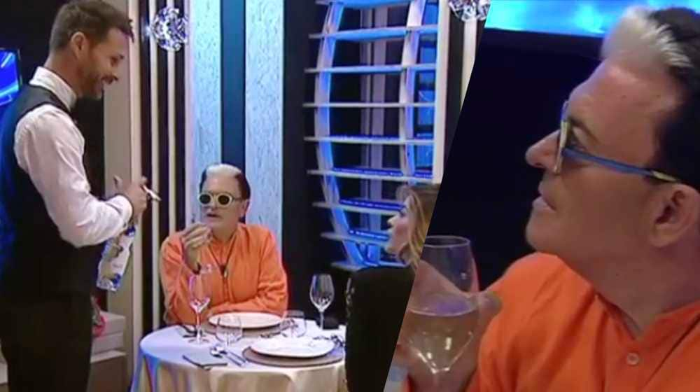 cristiano malgioglio cameriere aida yespica grande fratello vip video