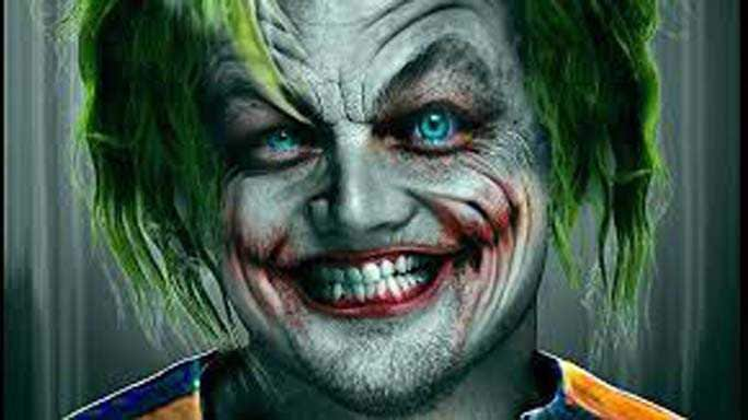 leonardo dicaprio joker foto