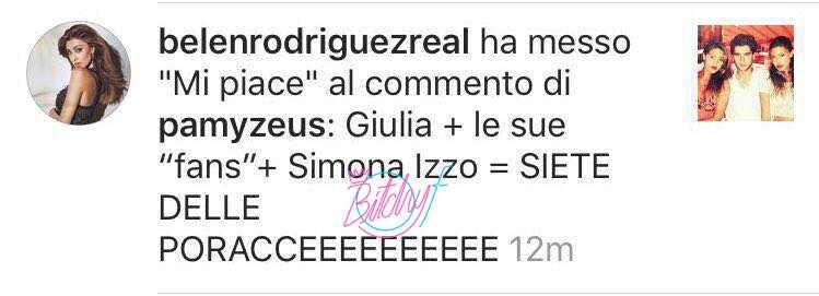 Belen Rodriguez contro Giulia De Lellis (2)