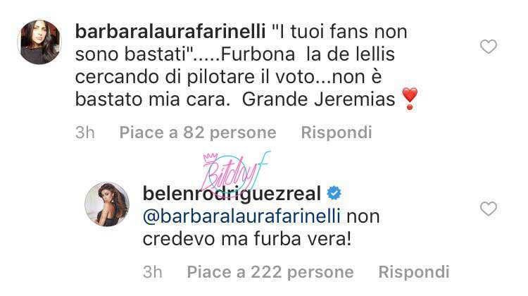 Belen Rodriguez contro Giulia De Lellis (3)