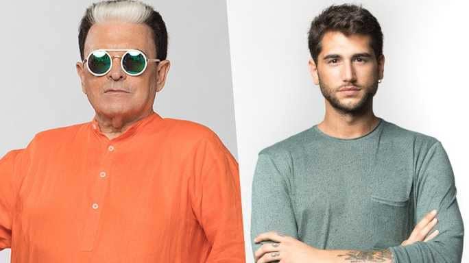 Cristiano Malgioglio e Jeremias Rodriguez