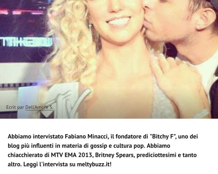 Fabiano Minacci Meltybuzz