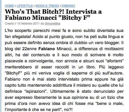 Fabiano Minacci PaperBlog