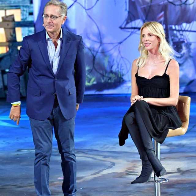 Paolo Bonolis e Alessia Marcuzzi