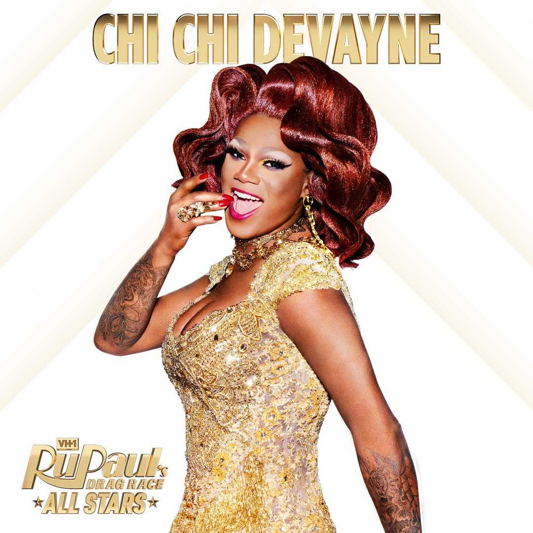 RuPaul Drag Race All Stars 3 - Chi Chi DeVayne