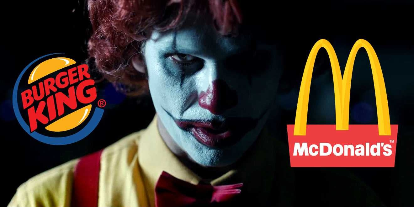 ScaryClownNight-burger king mc donald