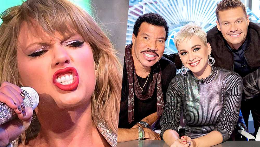 taylor swift katy perry american idol