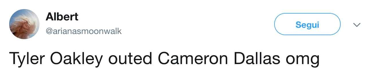 tyler oakley outed cameron dallas