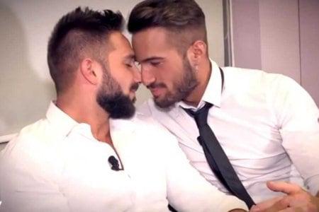 Alex Migliorini e Alessandro D'Amico Dopo la scelta di Uomini e Donne (2)