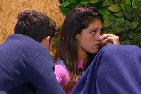 Ignazio e Cecilia Rodriguez piange